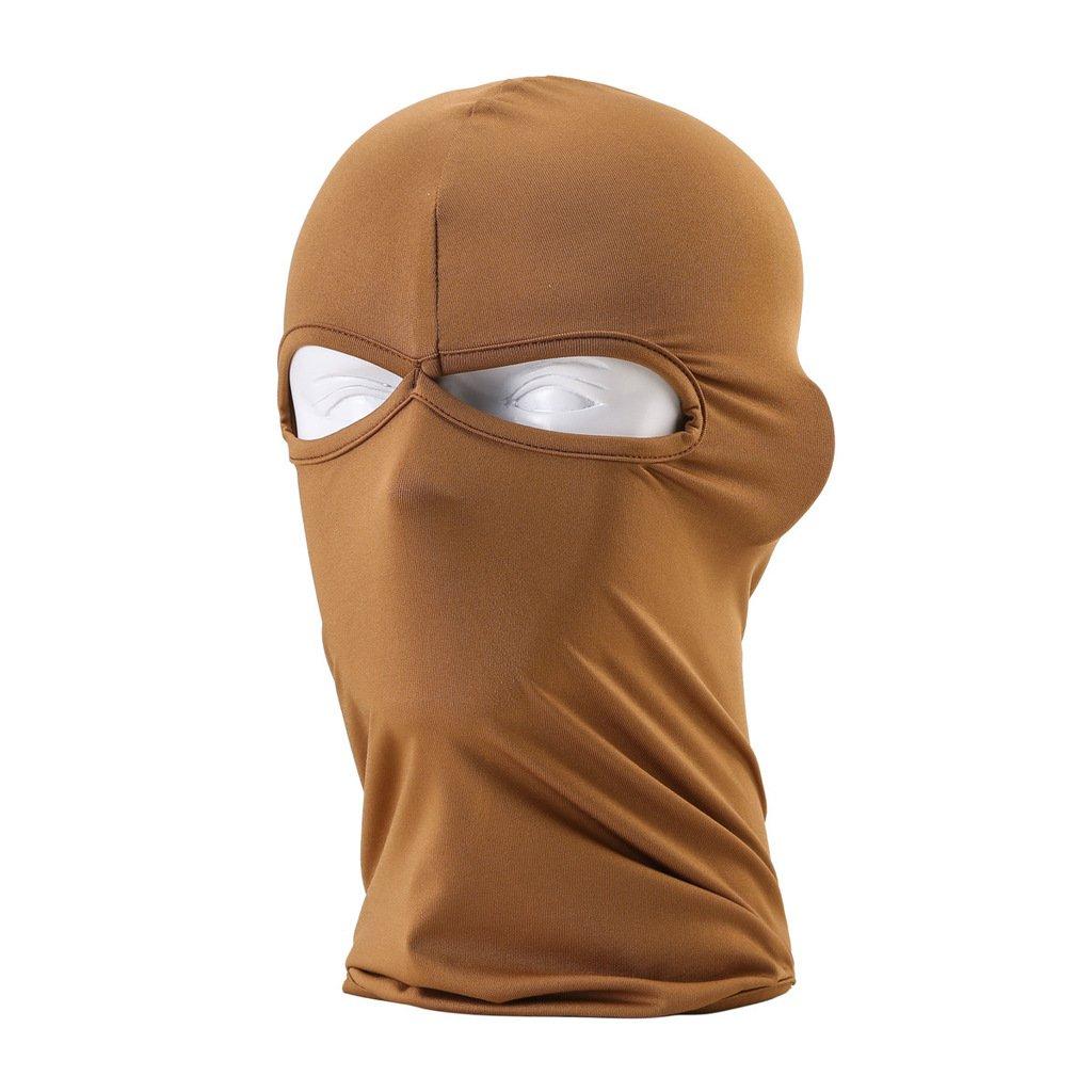 Full face mask neck warmer hood balaclava outdoor winter sports hats - Amazon Com Maoko Outdoor Sports Lycra Balaclava Cycling Hood Face Mask Hat Windproof Armygreen Sports Outdoors