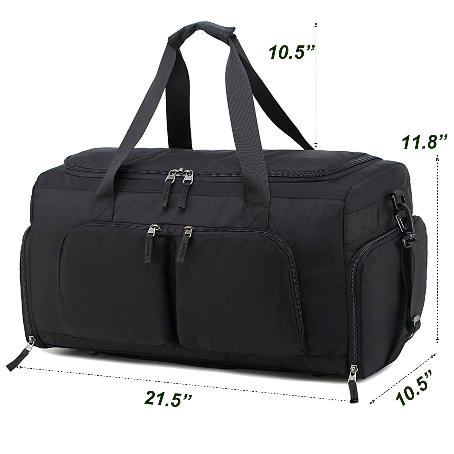 7313387baac0 Amazon.com  Sport Travel Duffel Bag with Shoe Compartment for Men Gym  Weekend Overnight Carry on Tote Bags  UPSTORE