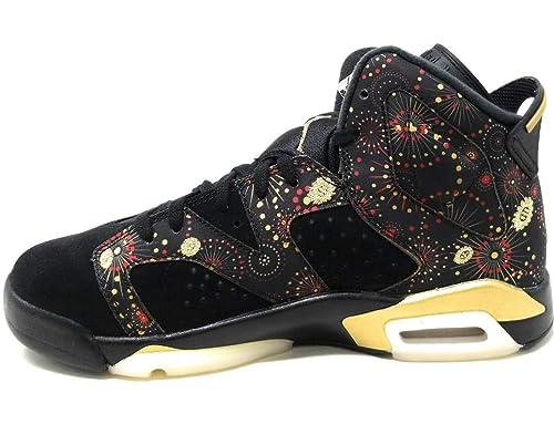 Nike Air Jordan 6 Retro CNY BG Chaussures de Fitness Homme