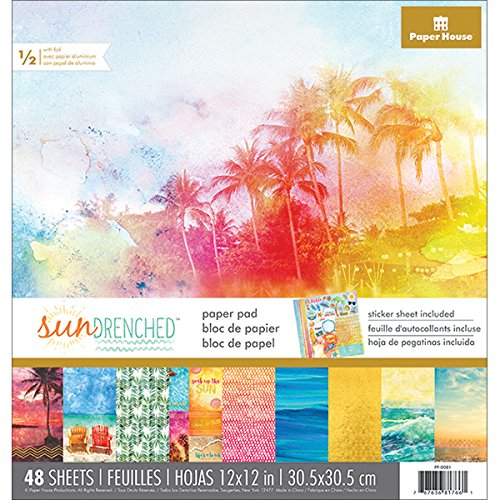 Paper House Productions Sun Drenched Paper Craft Product (15 Pack) ()