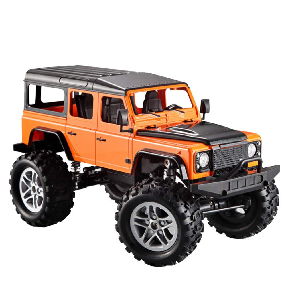 CreazyBee Shock Absorption Land Durability Model Remote Control Off-Road Car (Orange) by CreazyBee