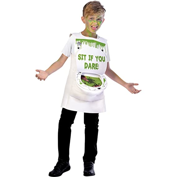 Amscan Schleimige Toilette Halloween Kostüm Kinder Unisex Amazonde