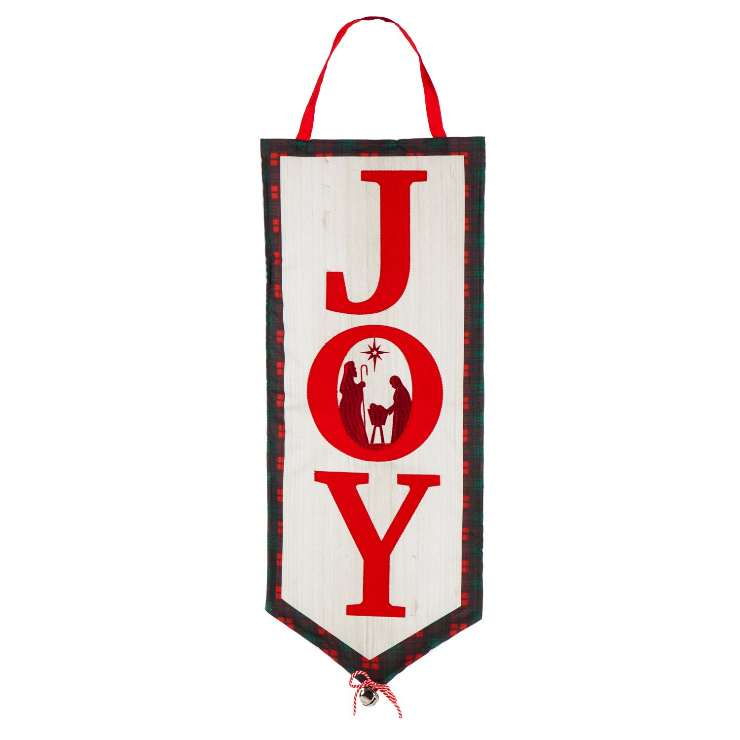 Evergreen Joy Outdoor Safe Door Hanger by Evergreen Flag