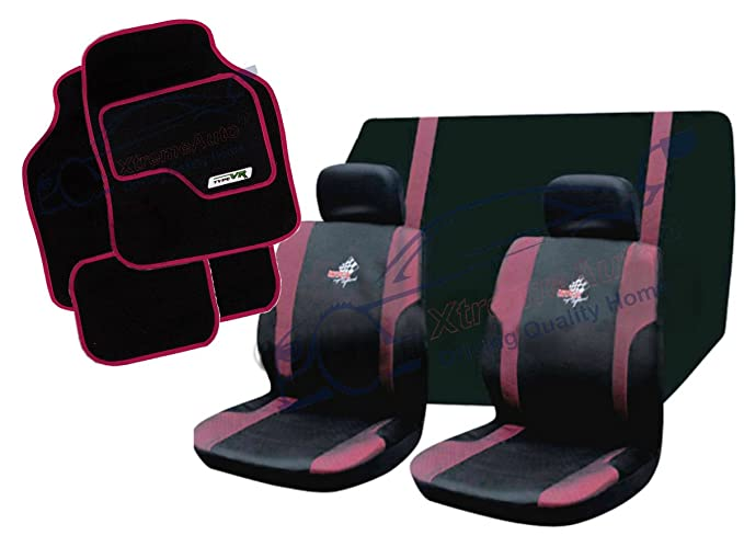SUZUKI SPLASH 08-ON Grey Carnaby Luxury Full Set Car Seat Covers