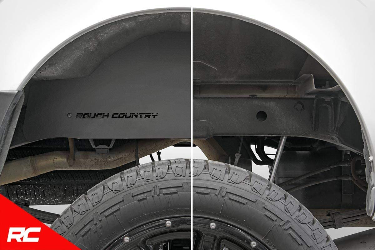 Rough Country Steel Rear Wheel Well Liners fits 2005-2019 Nissan Frontier Crew
