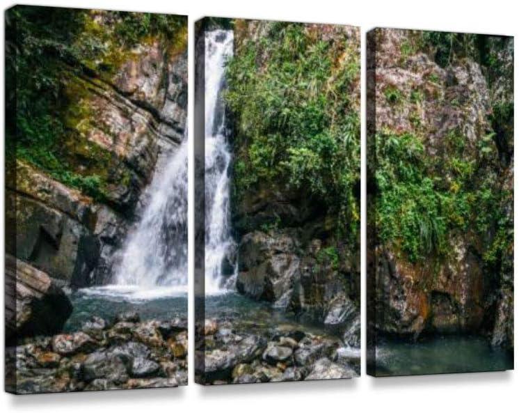 Landscapes Forest MULTI CANVAS WALL ART Picture Print VA