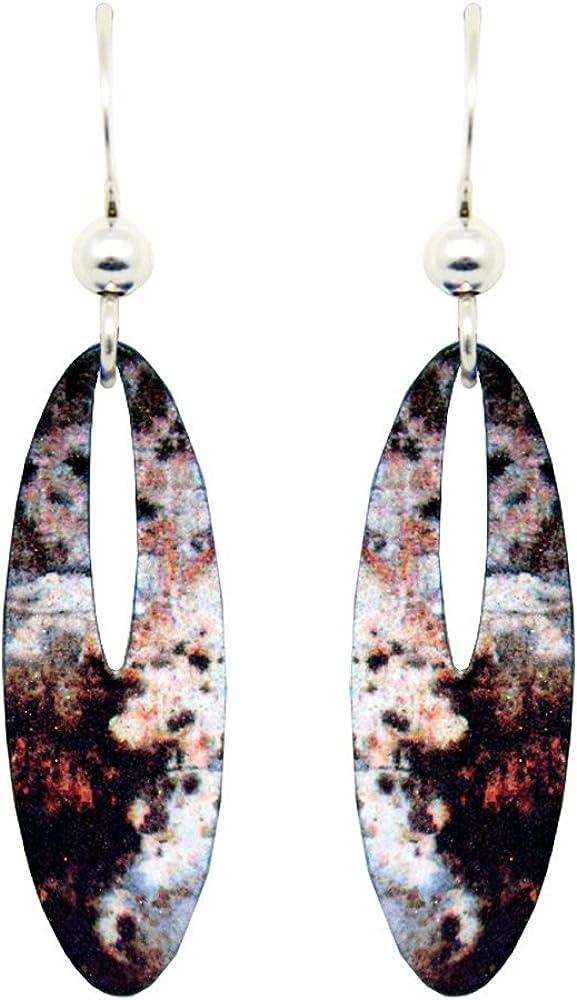 Golden Earrings by dears Non-Tarnish Sterling Silver French Hook Ear Wire