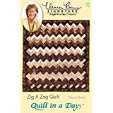 Quilt In A Day Eleanor Burns Patterns, Zig a Zag Quilt