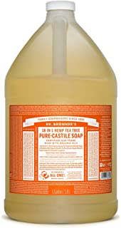 product image for Dr. Bronner's - Pure-Castile Liquid Soap (Tea Tree, 1 Gallon)