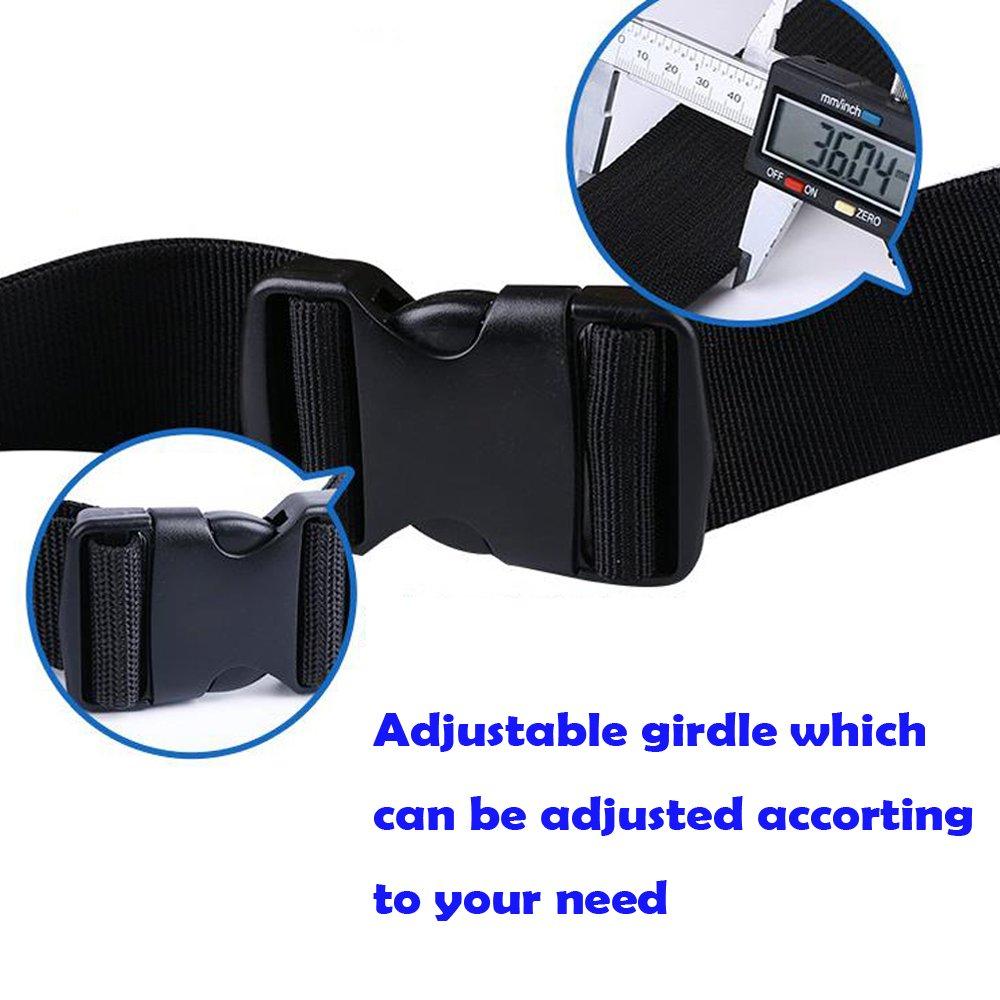 Cinturón Herramientas Portaherramientas Cinturón Profesional Ajustable Impermeable con Tela Oxford Bolsa Herramientas para Electricista/Personal ...