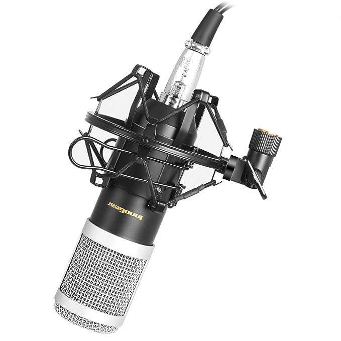 2 opinioni per InnoGear ha Aggiornato il Microfono Condensatore di Registrazione di Studio