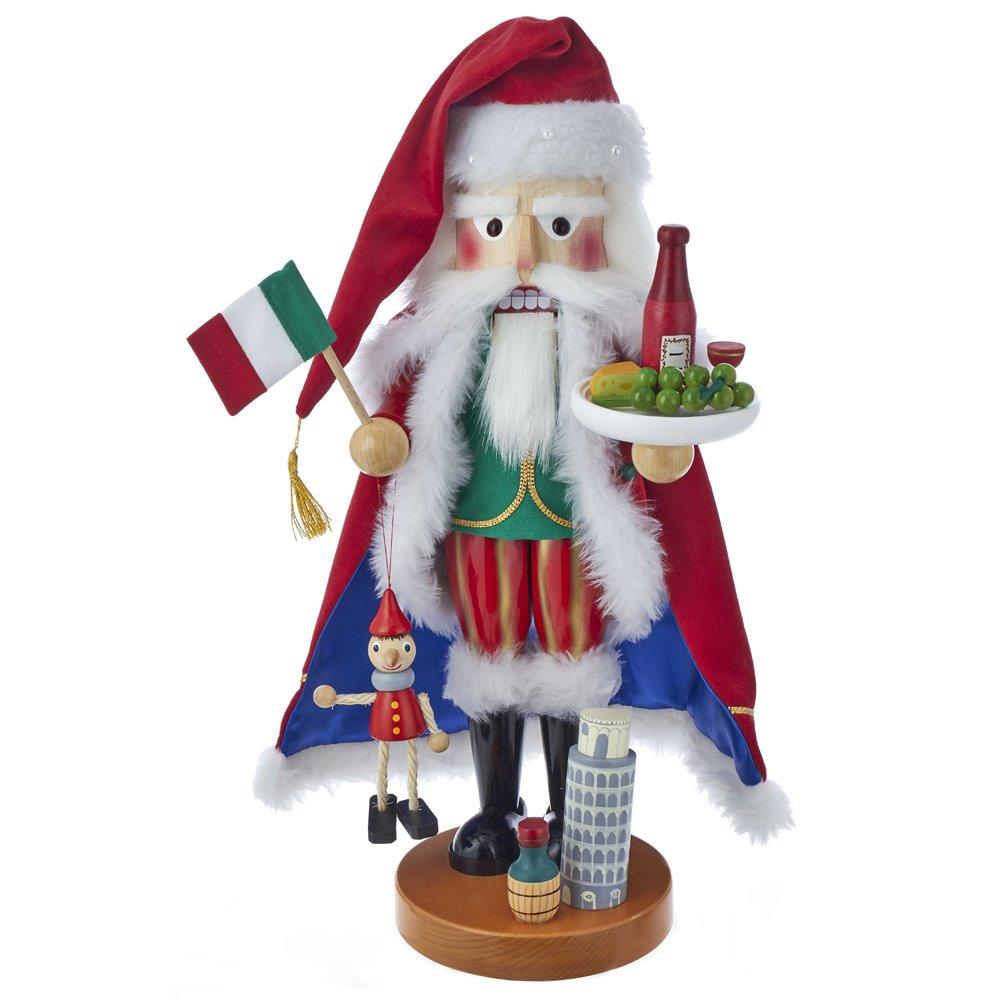 Kurt Adler 18.5'' STNBCH Italian Santa Nutcracker