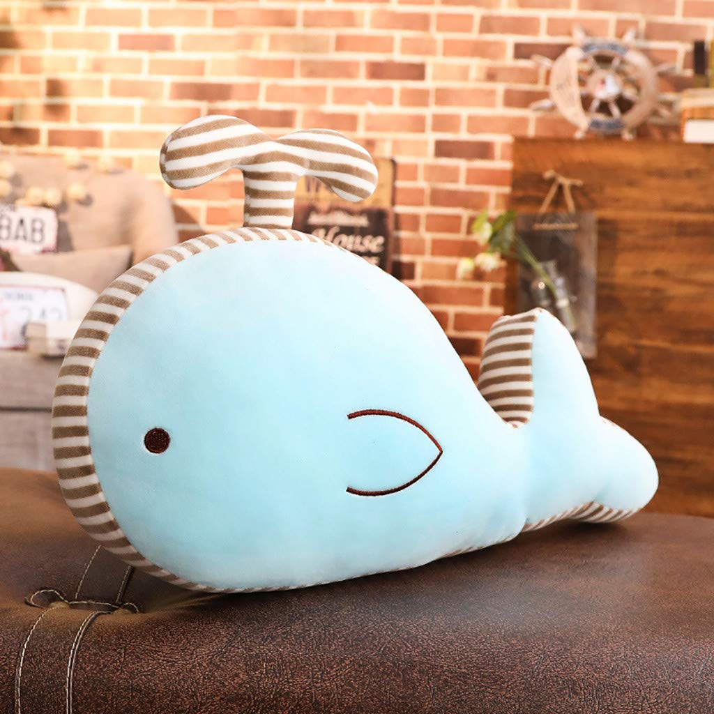 tianranrt Belle dulce delfín Animal muñeca farcie peluche juguete página de inicio fiesta boda Kid Regalo, azul: Amazon.es: Bricolaje y herramientas