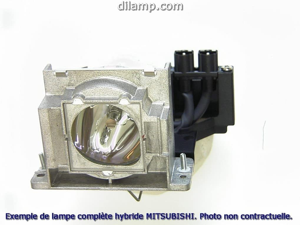 ES200U Mitsubishi Projector Lamp Replacement Projector Lamp Assembly with Genuine Original Philips UHP Bulb Inside.
