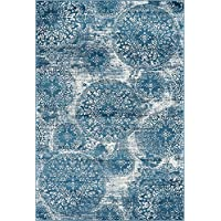 Unique Loom 3141615 Area Rug, 6 x 9, Blue