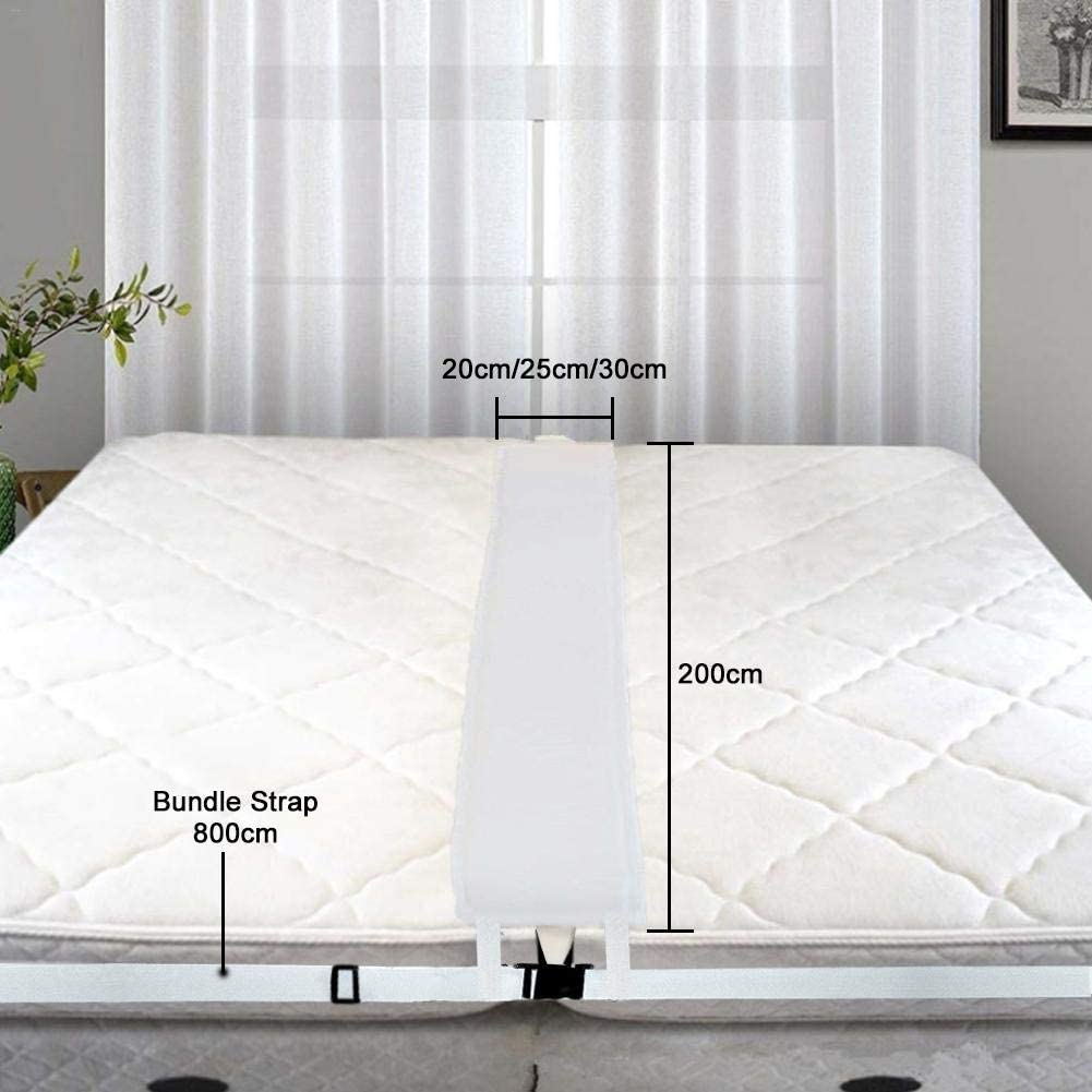 Bed Bridge Mattress Connector Memory Foma/Filler Pad Bridge for Two Single Mattresses Bed Connector Conversion Kit for Family and Hotel