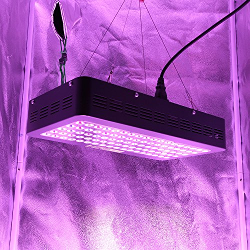 61AaFADJdBL - MEIZHI Reflector Series 450W LED Grow Light Full Spectrum for Indoor Plants Veg and Flower Dual Growth and Bloom Switches