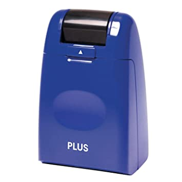 Plus Guard Your ID Roller Stamp Blue