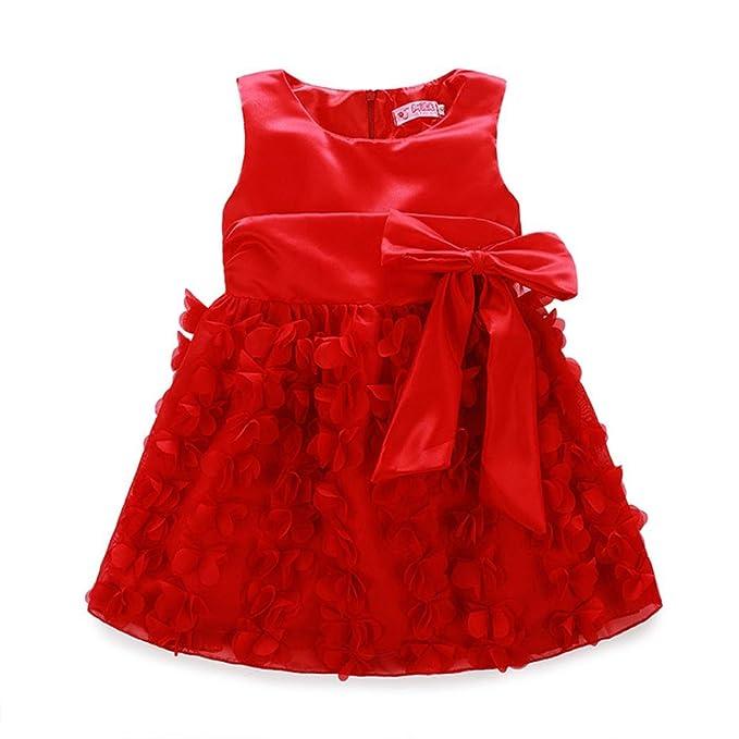 Baby Madchen Kleid Prinzessin Hochzeit Taufkleid Blumenmadchen Festlich Kleid Kleinkind Festzug Kleidung Xinantime Kleider Madchen 0 24 Monate Livemillennium Com