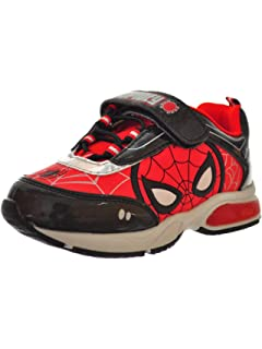 Toddler//Little Kid Favorite Characters Baby Boys Spiderman/¿ Canvas Lighted SPS384