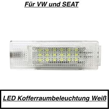 wei/ß blau lila gr/ün rot 2X LED Module wei/ß Fu/ßraum Kofferaum