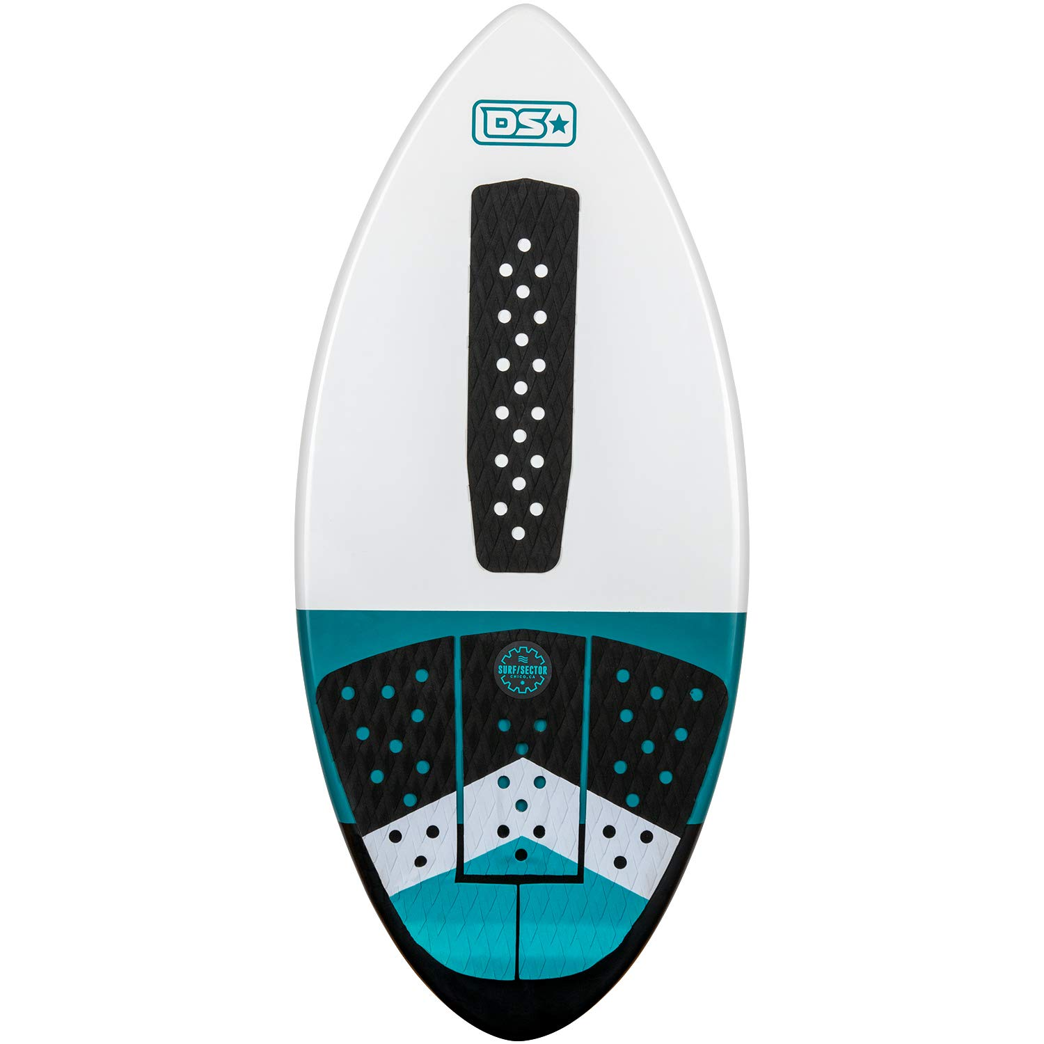 Driftsun Fiberglass Performance Skimboard for Kids and Adults with EVA Traction Pad, 44, 48, and 52 inch Sizes, Carbon Fiber Reinforced