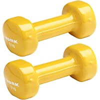York 2kg PVC Dumbells Pair