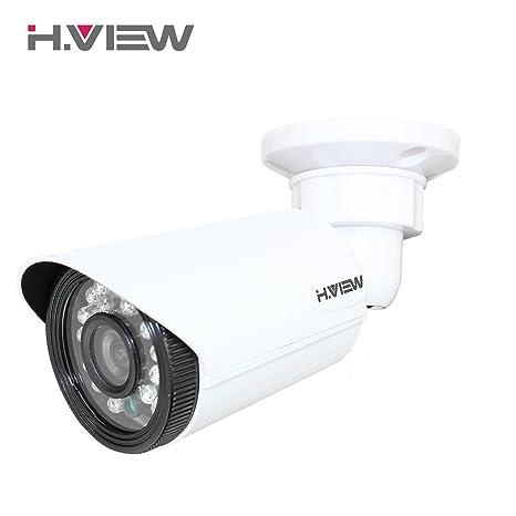H. Ver Cámara de seguridad HD PoE Array LED de visión nocturna red IP exterior