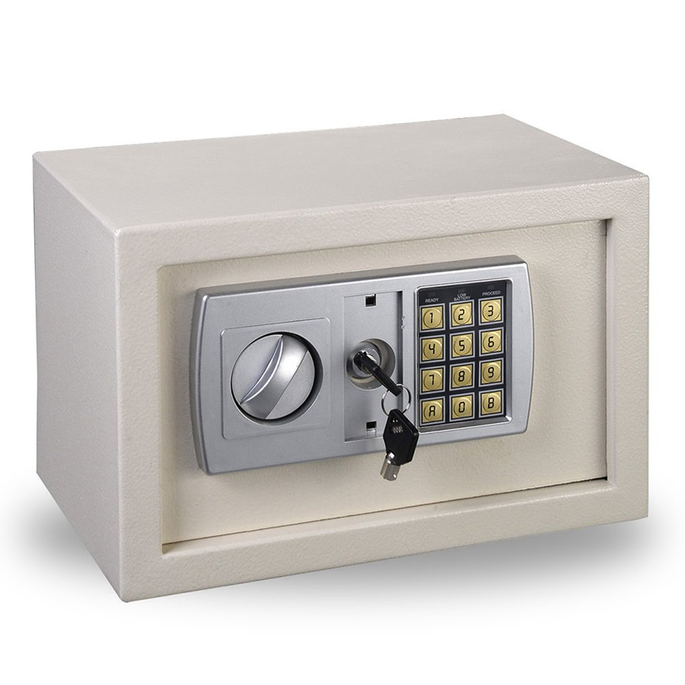 Funwill Digital Electronic Safe Security Box Keypad Lock Steel Safe for Gun Cash Jewelry (SHIPPING FORM USA)