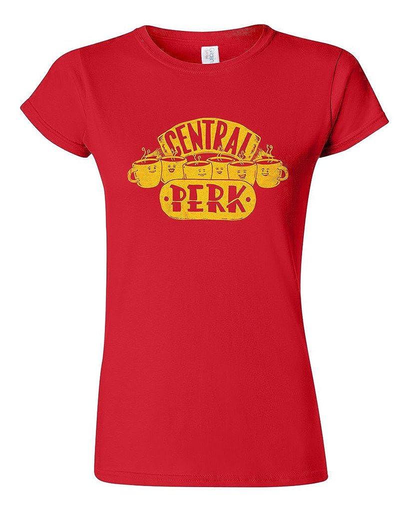 Central Perk Coffee Friends Salih Gonenli Artworks Funny Dt Tshirt Tee