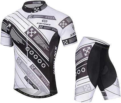 2019 Hommes Maillot de cyclisme cuissard short Set à manches courtes vélo TENUES SPORTS uniforme