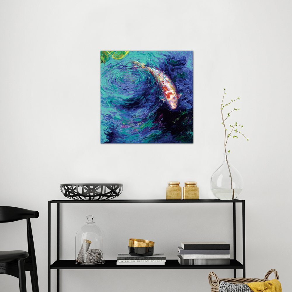 iCanvasART Jacaranda Canvas Print by Iris Scott 26 x 26