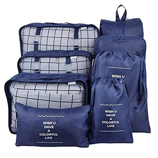 8 bolsas de viaje impermeables para guardar equipaje ...