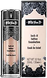 Kat Von D Lock-It Tattoo Foundation Medium 54 by Zupishi