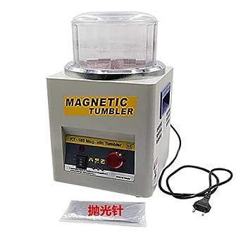 ZGUO Digital magnético vaso, joyería pulidora magnético Deburring pulido máquina para joyas oro de acabado