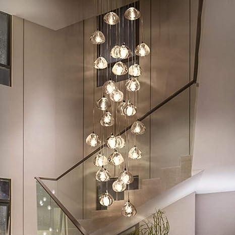 on sale c1db3 c9c84 Modern Led Pendant Lights Crystal Pendant Lamp Compound Hall ...