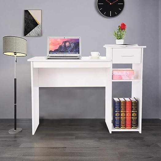 IGETELY Computer Desk Home Office Study Desks Laptop Notebook Desk Laptop Desk Student Writing Desk