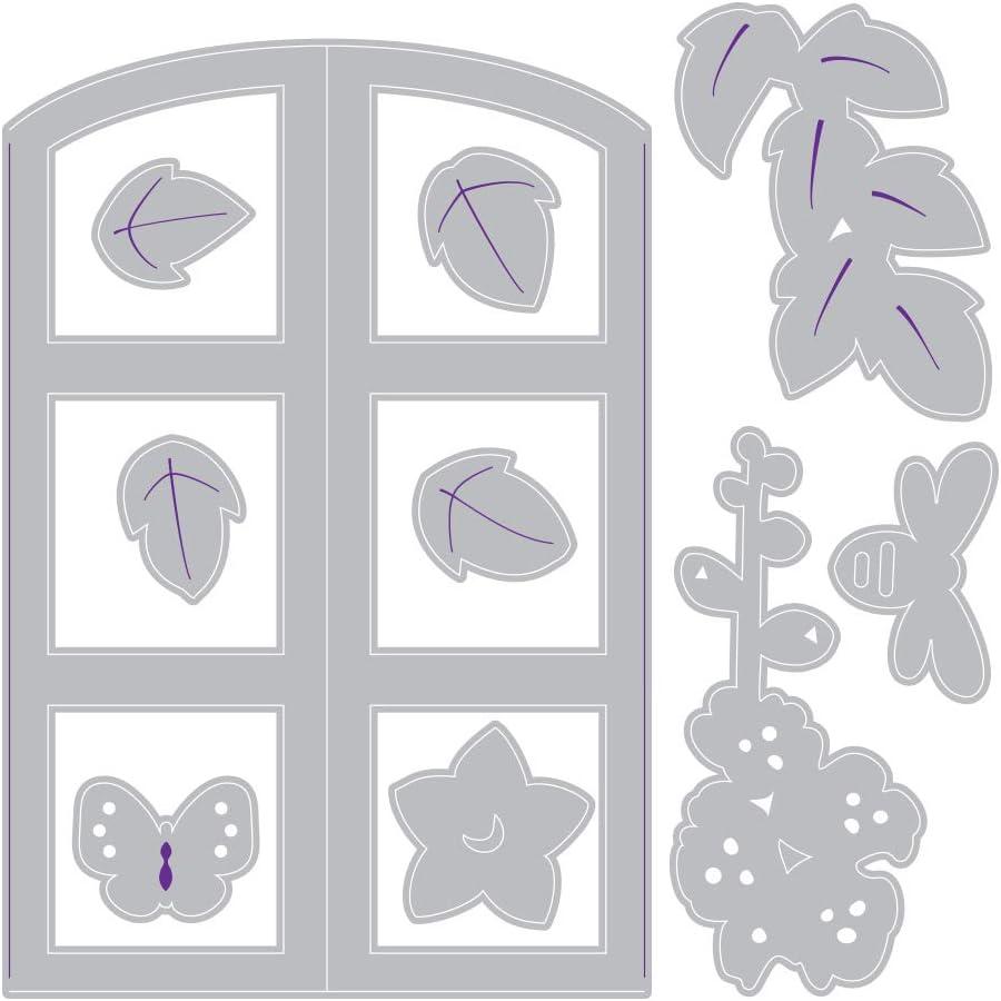 Sizzix Impresslits Embossing Folder Window Box von Lynda Kanase
