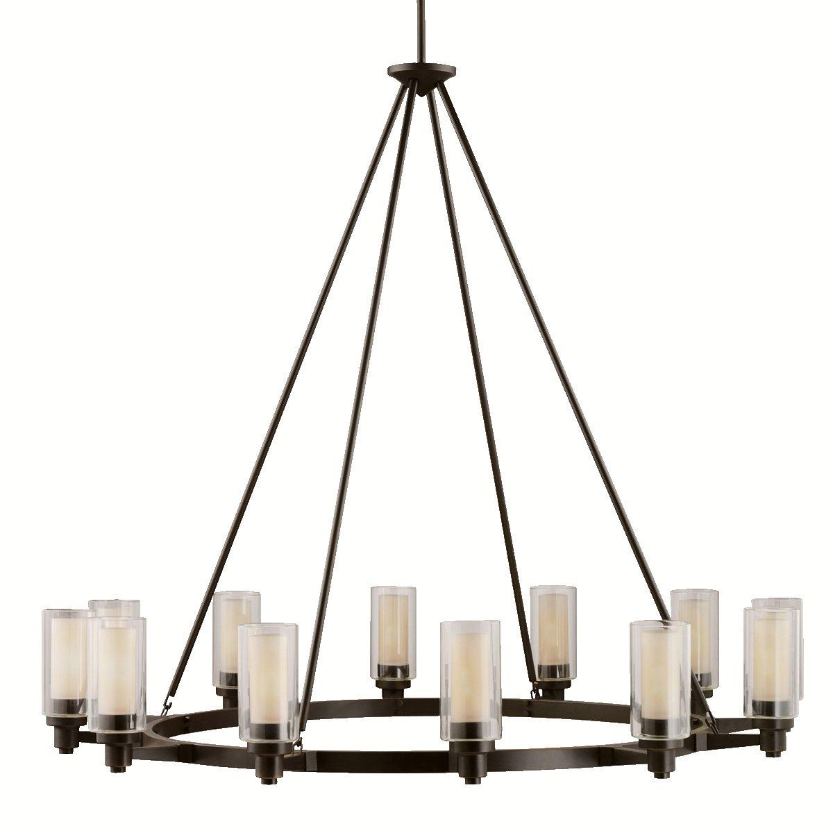 Kichler 2347oz 12 light chandelier amazon aloadofball Choice Image