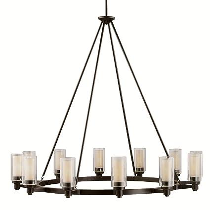 Kichler 2347oz 12 light chandelier amazon kichler 2347oz 12 light chandelier mozeypictures Images