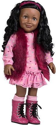 Adora Amazing Girls 18-inch Doll, ''Furry & Fabulous Jada'' (Amazon Exclusive)