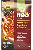 Neo Pizza Topping and Sauce with Green Olives, 250g