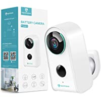 Security Camera Outdoor Indoor Wireless Battery Camera, HeimVision Rechargeable Battery Powered Camera, WiFi Home…