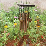 Antirust Copper Wind Chimes Outdoor Living/Yard Garden Decorations Birthday Gifts To Friends And Best Wishes C