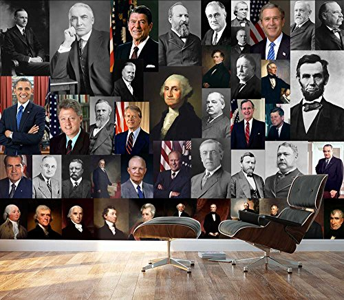 Presidents of United States Collage Wall Decor