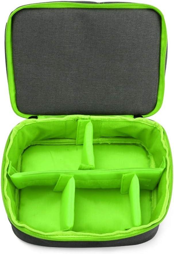 New Professional Nylon Material SLR Camera Bag Portable Diagonal Bag Camera Bag Shoulder Camera Bag Size 20.5 25.529cm Green Package Well-Made