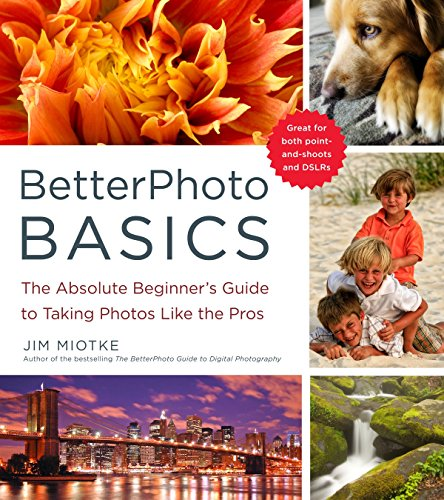 Absolutely anyone can take better photos!If you can press a button, you can take great pictures. It's as simple as that. In BetterPhoto Basics, Jim Miotke, founder of the popular online photography school BetterPhoto.com, shares tips and tricks to i...