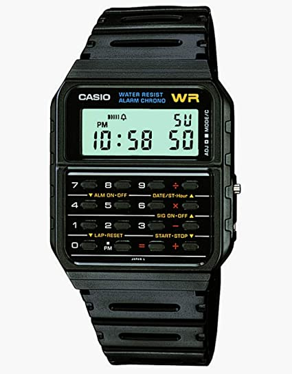 87d976eae498 Amazon.com  Casio Men s Vintage CA53W-1 Calculator Watch  Casio  Watches
