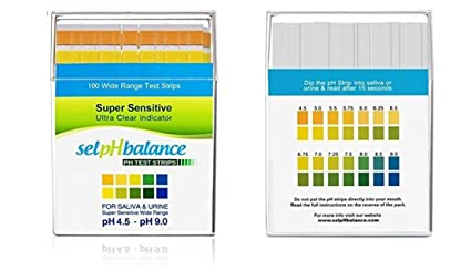 Amazon com : GVGs Shop 100Ct First-Class Popular pH Balance