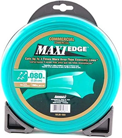 Arnold Maxi-Edge .08-Inch x 280-Foot Trimmer Line - Most Budget-Friendly Trimmer Line
